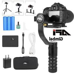 AFI VS-3SD 3-Axis Handheld Gimbal Camera Stablizer 360° for