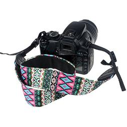 CEARI VSM-06 Vintage Camera Shoulder Neck Strap for Nikon Df
