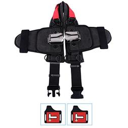 Eggsnow Universal Camera Waist Belt Holster with 2 Removable