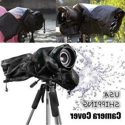 Water-resistant Camera Rain Coat Cover for Canon/Nikon/Penta