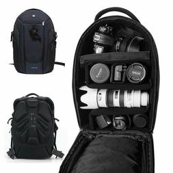 PROWELL Water Resistant DSLR Camera Backpack Gadget Bag with