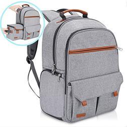 Endurax Waterproof Camera Backpack for Women and Men Fits 15