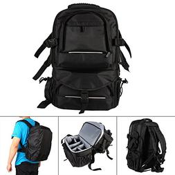 Waterproof Camera Backpack Bag, Multifunctional Nylon Travel