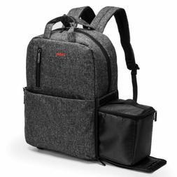 "Waterproof Camera Backpack Fits 15""15.6"" Laptop DSLR Photogr"