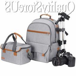 Waterproof Camera Backpack For Women & Men Laptop Build-in D