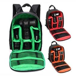 Waterproof Digital DSLR Camera Video Backpack Shoulder Bag C