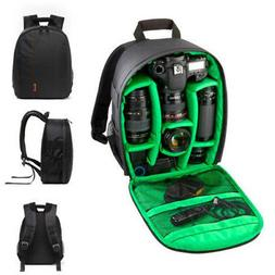 Waterproof DSLR Camera Backpack Shoulder Bag Case For Canon