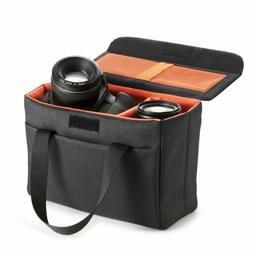Waterproof  DSLR Camera Bag Padded Case Shockproof Partition
