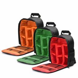 Waterproof DSLR Camera Video Backpack Shoulder Bag Case For