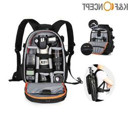 K&F Concept Camera Backpack Bag Waterproof for Canon Nikon D