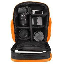 VanGoddy Waterproof DSLR SLR Camera Backpack Bag Case For Ca