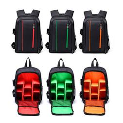 Extra Large DSLR Waterproof Camera Backpack Shoulder Bag Cas