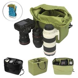 Waterproof DSLR SLR Camera Insert Padded Partition Camera Le