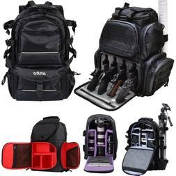 Large Waterproof Camera Backpack Shoulder Bag DSLR/SLR/TLR T