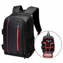 Waterproof Large DSLR Camera Backpack Photography Shoulder L