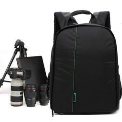 Waterproof Nylon DSLR Lenses Hiking Shoulder Bag Pro Camera