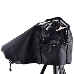 "JJC 22cm/8.6"" Waterproof Nylon Rain Coat Cover Poncho for Ni"