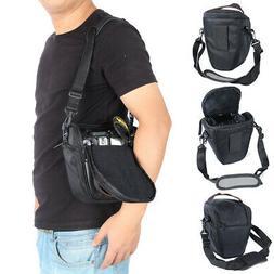 Waterproof SLR DSLR Camera Case Shoulder Bag Backpack for Ca