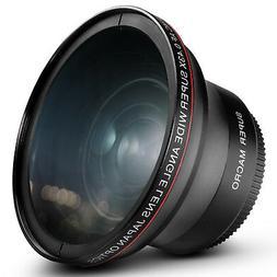 52MM Altura Photo 0.43x Wide Angle Macro Lens for Nikon D710