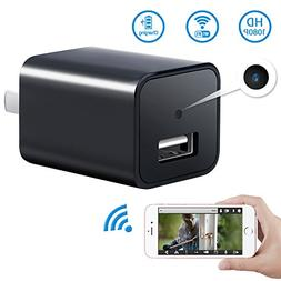 1080P WiFi Hidden Spy Camera USB Wall Charger-SOOSPY Wireles