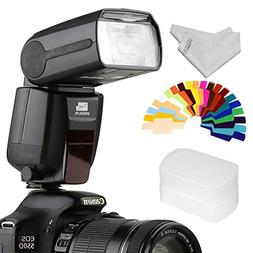 PIXEL Wireless Speedlite Flash GN60 LCD Flash Modes for All