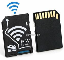 Wireless WiFi Micro SD TF Flash SDHC Memory Card Camera Adap