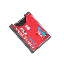 Wireless SD to CF Card Adapter Type I Converter Reader for S