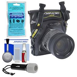 DiCAPac WP-S5 Waterproof Case for Compact DSLR Cameras with
