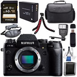 Fujifilm X-T1 Mirrorless Digital Camera  16421452 + NP-W126