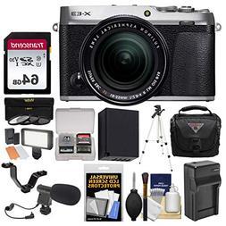 Fujifilm X-E3 4K Digital Camera & 18-55mm XF Lens  with 64GB