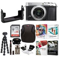 Fujifilm X-E3 Mirrorless Digital Camera w/XF23mm f/2 R WR Le