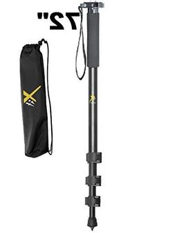 "Xit-Pro Series 72"" Monopod For Nikon DSLR Camera D7200 D7100"