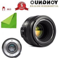 Yongnuo YN 50mm F/1.8 Auto Focus Standard Prime Lens for Nik