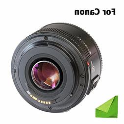 YONGNUO YN EF 50mm f/1.8 AF Lens Aperture Auto Focus for Can