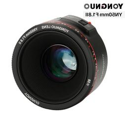 YONGNUO YN50mm F1.8 II Large Aperture Auto Focus Lens for <f