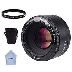 YONGNUO YN50mm F1.8 Lens for Canon Standard Prime Large Aper