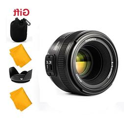 YONGNUO 50mm F1.8 1:1.8 Standard Prime Lens Large Aperture A
