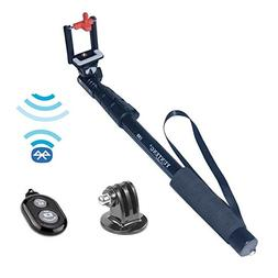 Yunteng YT-188 Selfie Stick + Bluetooth Remote +Tripod Mount