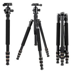 Zomei Q666 Portable Camera Tripod Adjustable Magnesium Alloy